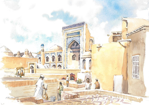 Alloquli Khan Bazaar, Khiva, 2001