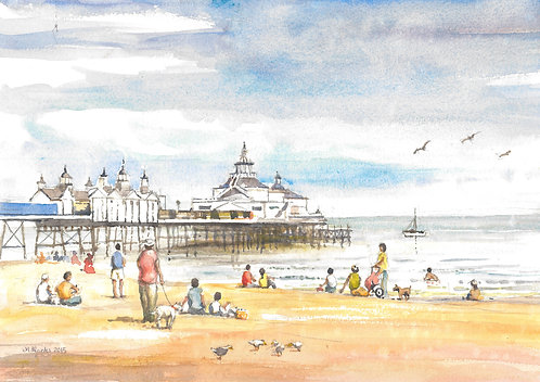 Eastbourne Pier, East Sussex, 2015