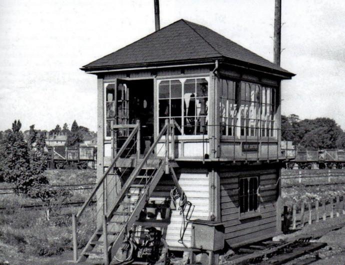 Nene Junction Signal Box 1960's