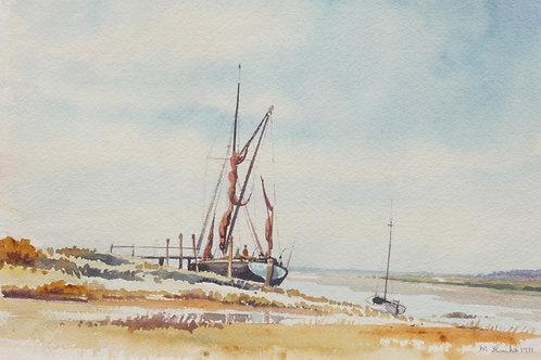 Thames Barge (A), 1971