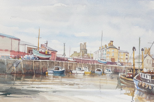 Aberystwyth Harbour, 2009