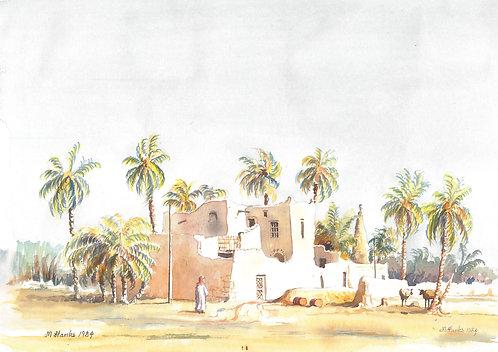 Farm at Unaizah, 1984