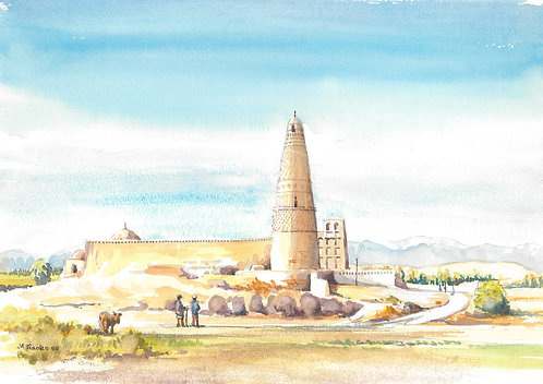 Mosque in Turpan Valley