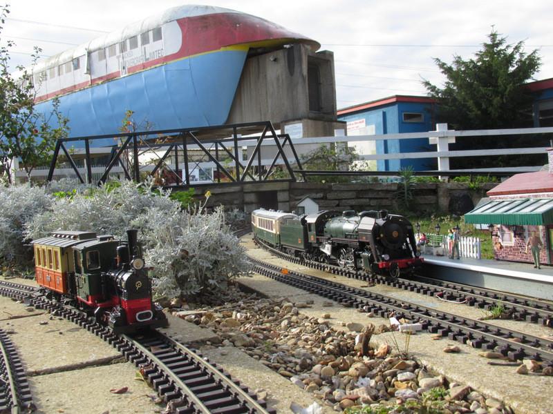 Railworld Wildlife Haven Garden Railway