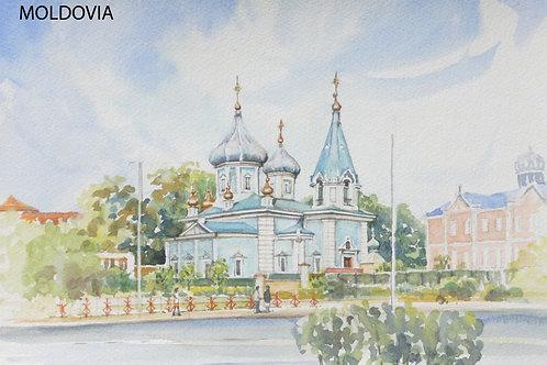 Chisinau Cathedral, 2007