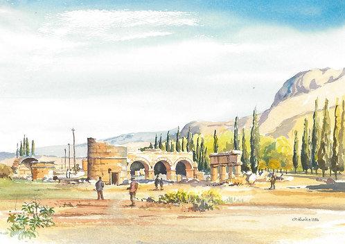 Roman ruins of Pamukkale, 1986