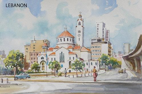 Saint George Greek Orthodox Cathedral, Beirut, 2010