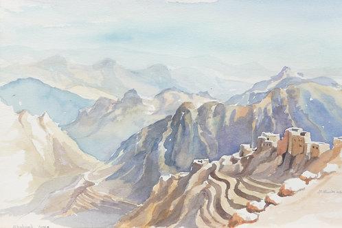 Shaharah Mountains,1984