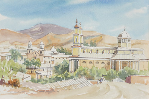Church at Andacollo, 1990