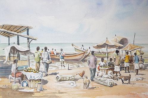 Kasanje Harbour, Lake Victoria, 2016