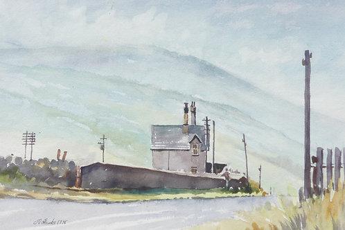 Dent Railway Station, 1975