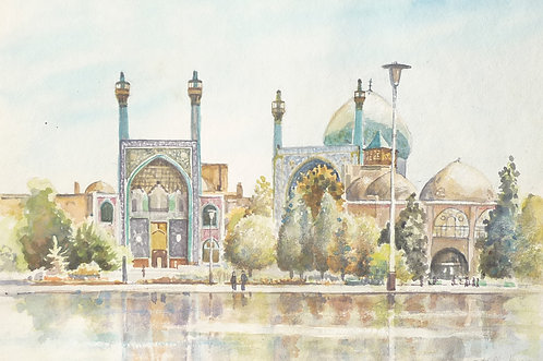 The Shah Mosque at Isfahan, 1968