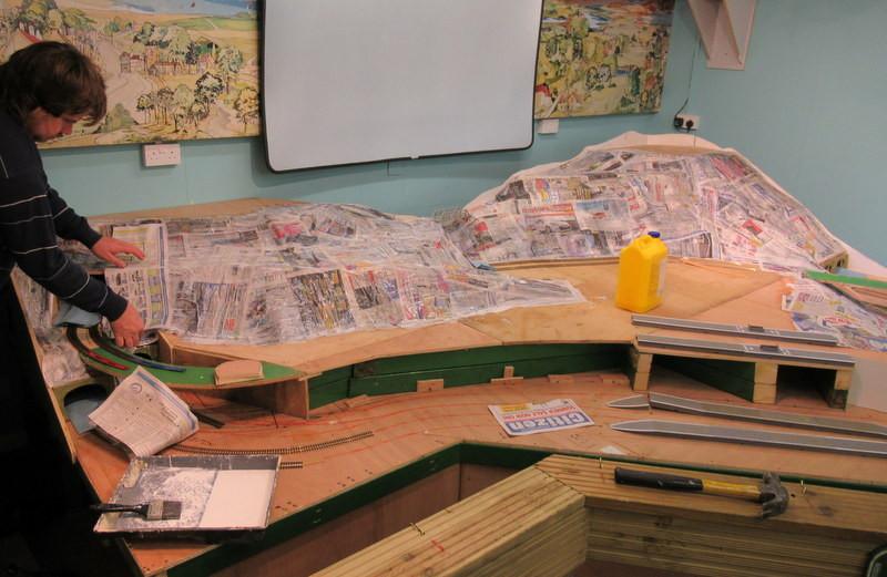 Building the model railway 3.JPG
