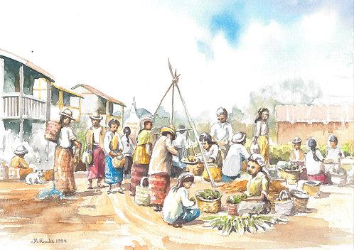 Kalaw Market, 1994