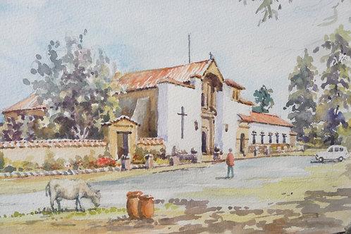 Convento Santa Sofie, near Villa de Leyve, 2014