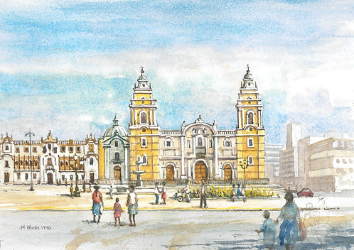 Lima Cathedral, 1990
