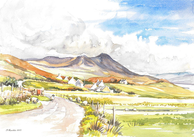 Polbain in the Coigach area, north west,