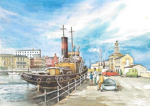 St Cervia steam tug, Ramsgate, 2018