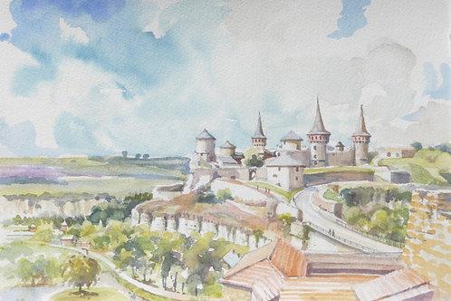Kamianets-Podilskyi Castle, 2007