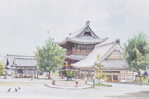 Kyoto Temple, 1975