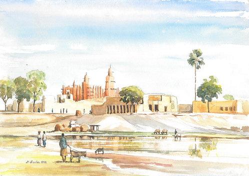 The Grand Mosque of Mopti, 1992