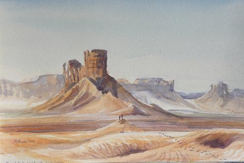 Desert scene near Riyadh (B), 1985