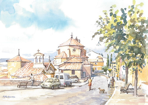 Old town of Cuenca, 2006