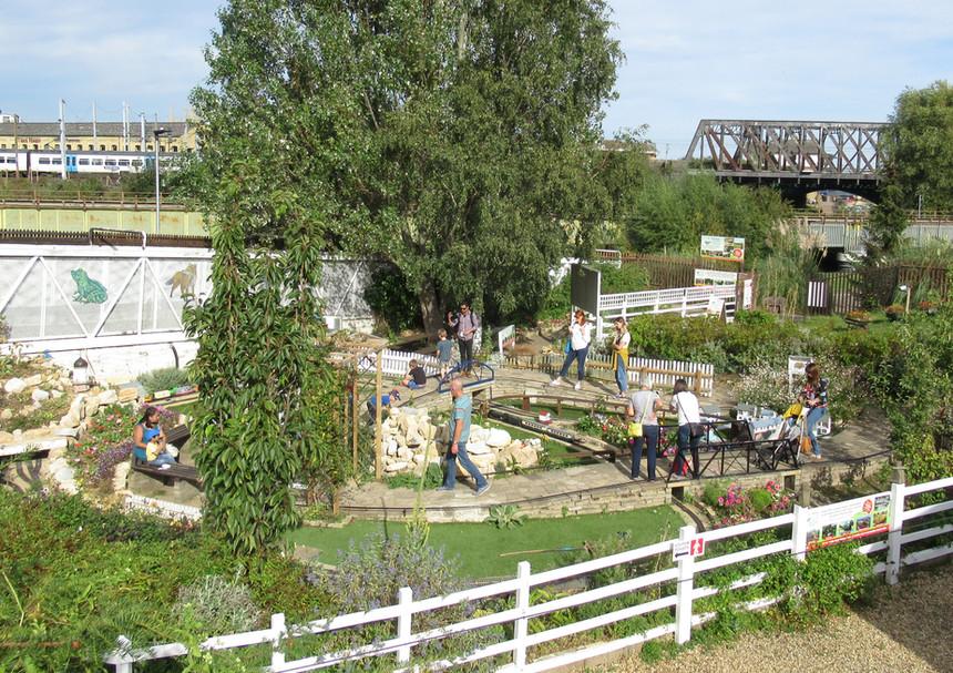 Railworld Wildlife Haven Garden Railway.