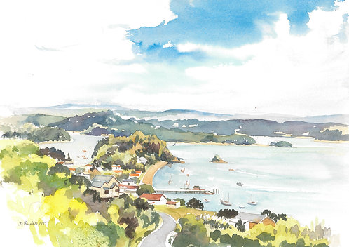 The Bay of Islands, 1987