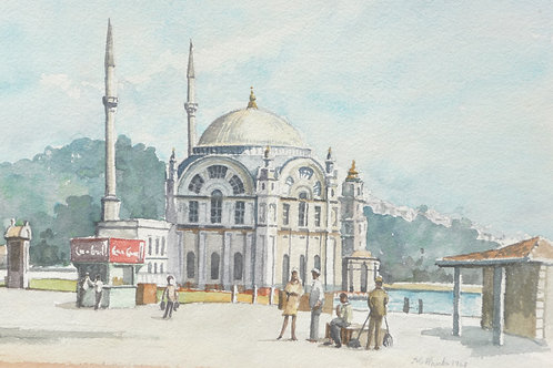 Small mosque by the Bosphorus, 1968