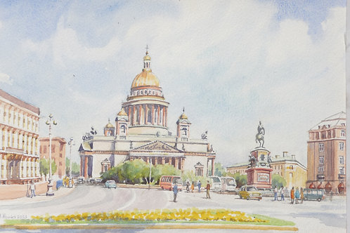 St Isaacs Cathedral, St Petersburg, 2003