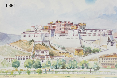 The Potala Palace in Lhasa, 1988