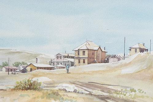 Kolmanskop ghost town, near Lüderitz, 2005