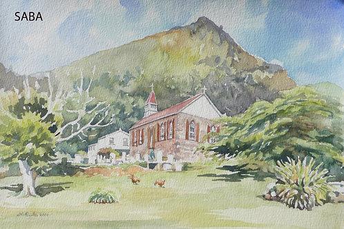 Holy Trinity Church, Windwardside, 2001