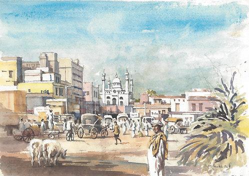 Central Peshawar, 1968
