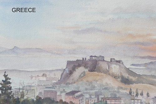 The Acropolis of Athens (A), 1963