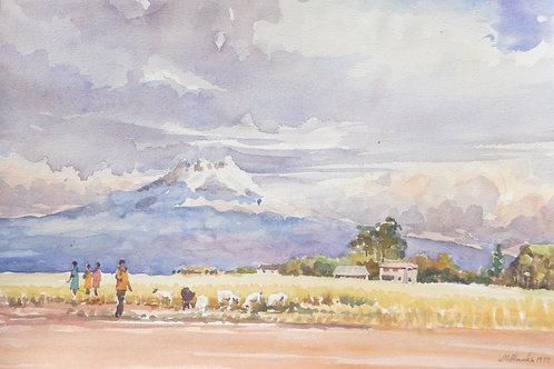 Mount Kenya, 1977