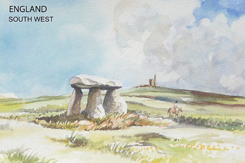 Lanyon Quoit at Pendeen, 2004