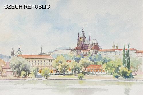 Prague Castle, 1989