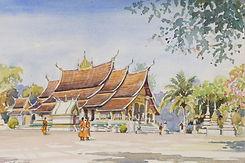 (204 Wat Xieng Thon at Luang Prabang in