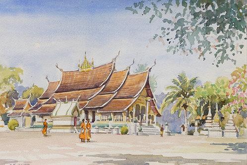Wat Xieng Thong Temple, Luang Prabang, 1999