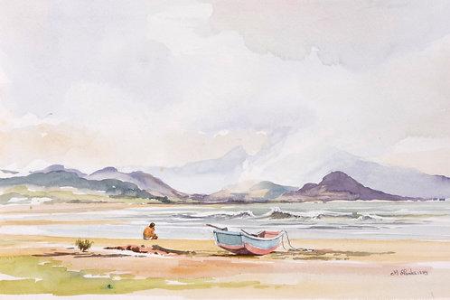 East coast near Fulong, 1985
