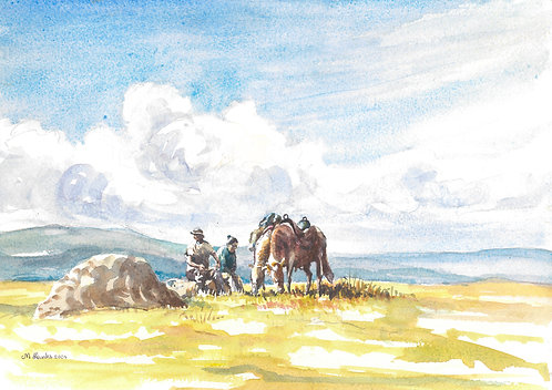 Country scene, 2004