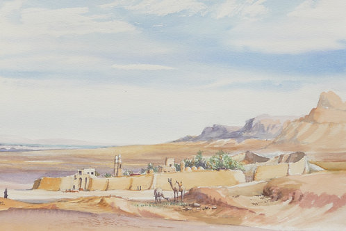 The Monastery of Saint Anthony, Red Sea, 1982