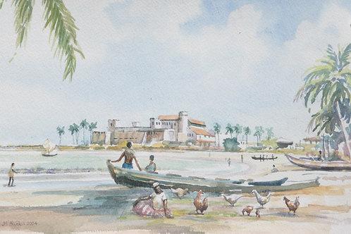 Fort St George at Elmina, 2004