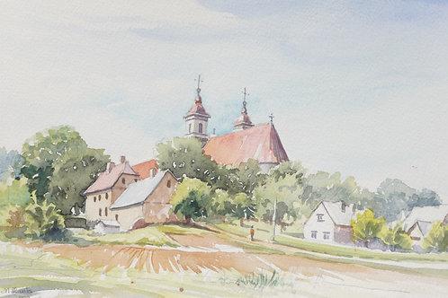Small town church, 1998