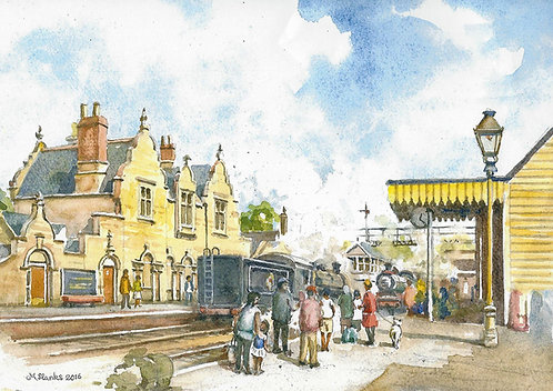 Wansford Station (A) - Nene Valley Railway