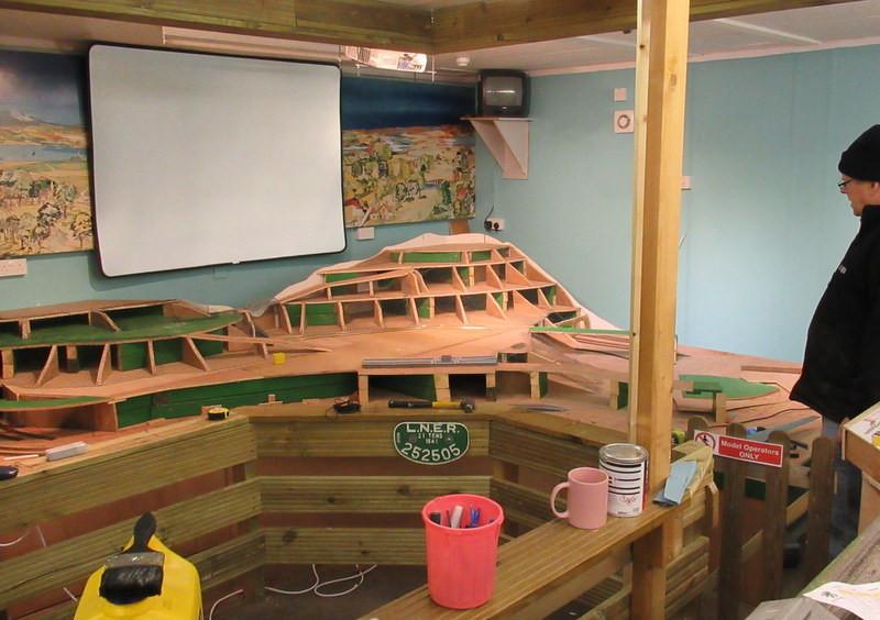 Building the model railway 2.JPG
