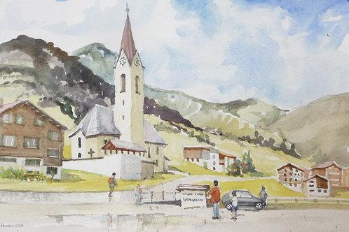 Burstegg Church near Lech, 2014