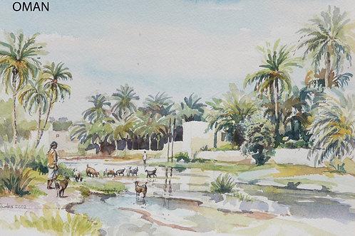 Al Thowarah Hot Spring, Nakhal, 2002